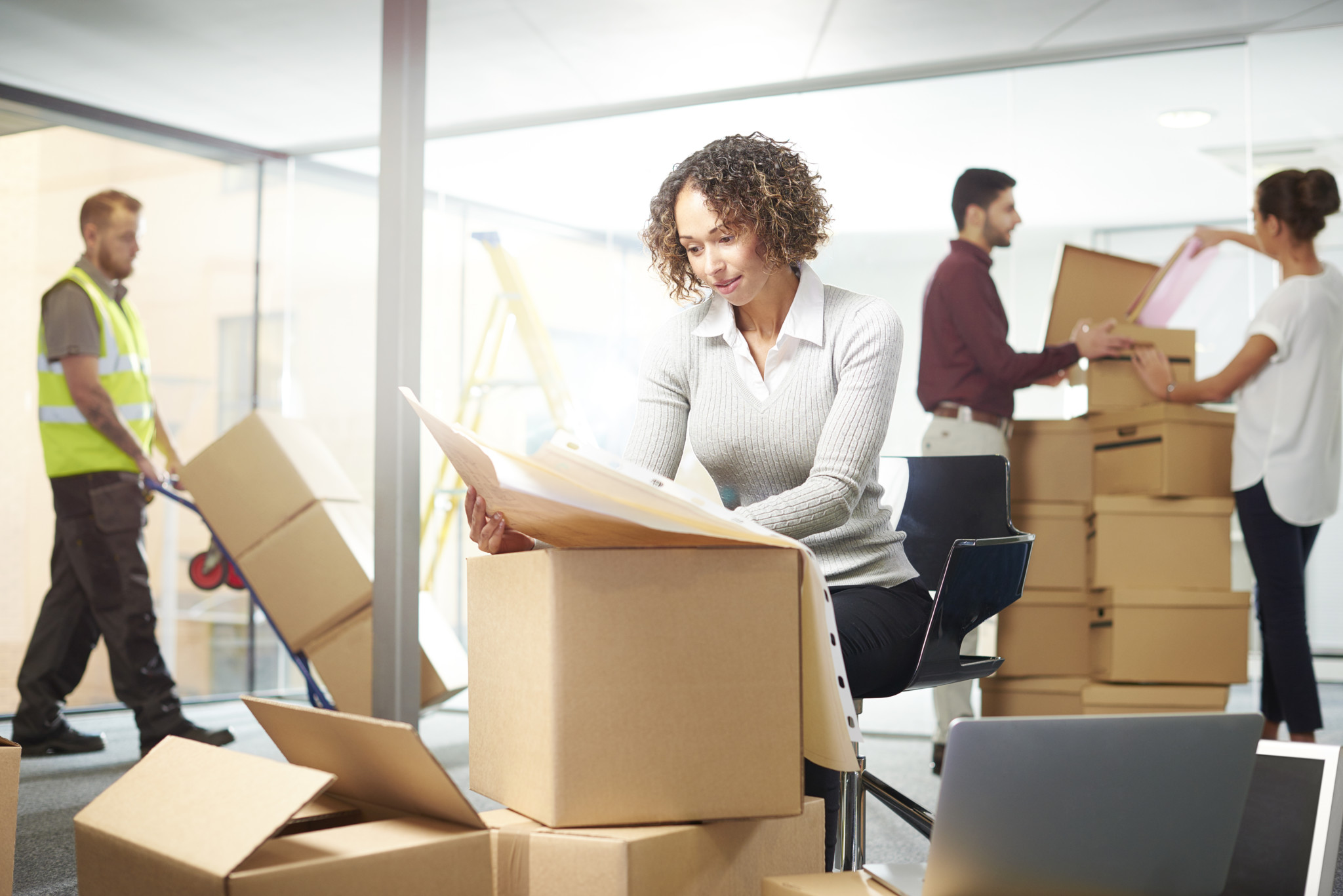 office movers, relocation Seattle
